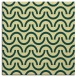 rug #477269 | square yellow retro rug