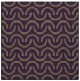 rug #477297 | square purple graphic rug