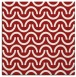 rug #477313 | square red retro rug