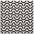 rug #477337 | square black retro rug