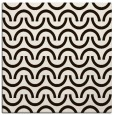 rug #477361 | square brown retro rug