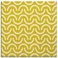 rug #477365 | square yellow retro rug