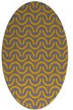 rug #477732 | oval graphic rug