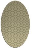 rug #477743 | oval graphic rug