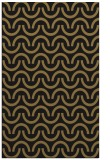 rug #477789 |  mid-brown graphic rug