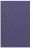rug #477833 |  blue-green retro rug