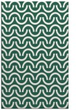 rug #477901 |  blue-green retro rug