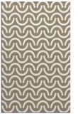 rug #477909 |  mid-brown graphic rug