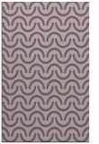 rug #477949 |  purple retro rug