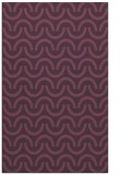 rug #477993 |  purple retro rug