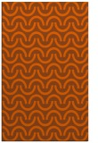 rug #478033 |  red-orange graphic rug