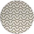 rug #478121 | round beige retro rug