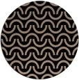 rug #478133 | round beige retro rug