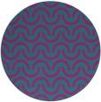 rug #478185   round blue-green graphic rug