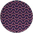 rug #478213 | round pink rug