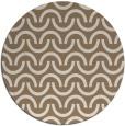 rug #478273 | round beige rug