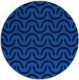 rug #478289 | round blue rug