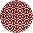 rug #478371 | round retro rug