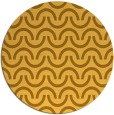 rug #478425   round light-orange rug