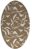 rug #479329 | oval beige natural rug