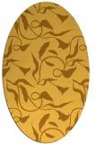 rug #479481   oval light-orange natural rug