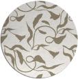 rug #479881 | round beige natural rug