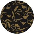 rug #479901 | round mid-brown natural rug