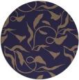 rug #479989 | round beige natural rug