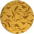 rug #480185 | round light-orange natural rug