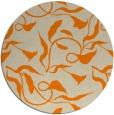 rug #480197 | round beige rug