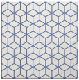 rug #482385   square blue geometry rug