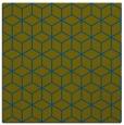 rug #482405 | square green rug