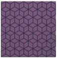 rug #482441 | square blue-violet rug
