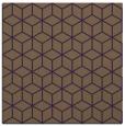 rug #482577 | square purple popular rug