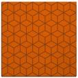 rug #482609 | square red-orange popular rug