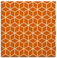 rug #482613 | square red-orange popular rug