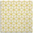 rug #482645   square yellow geometry rug