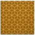 rug #482649   square yellow geometry rug
