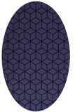 rug #482781 | oval geometry rug
