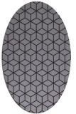 rug #482933   oval purple popular rug