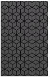 rug #483057 |  black geometry rug