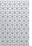 rug #483089 |  blue geometry rug