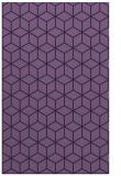 rug #483145 |  blue-violet rug