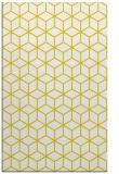 rug #483349 |  yellow geometry rug