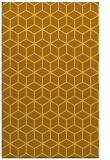rug #483353 |  yellow geometry rug