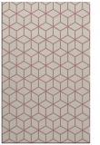 rug #483389 |  pink geometry rug