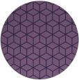 rug #483497 | round purple rug