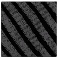 rug #484113 | square black stripes rug