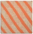 rug #484301 | square orange stripes rug