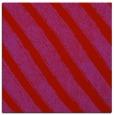rug #484357 | square red stripes rug